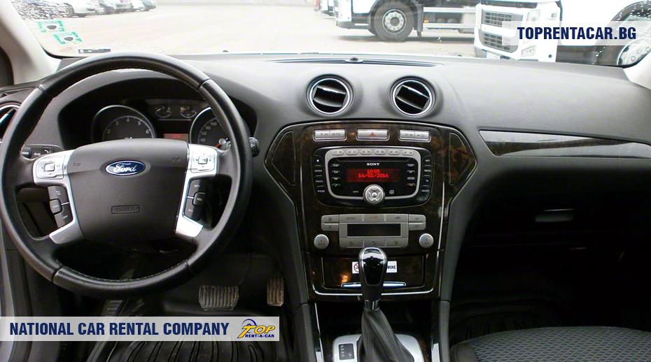 Ford Mondeo - вид изнутри