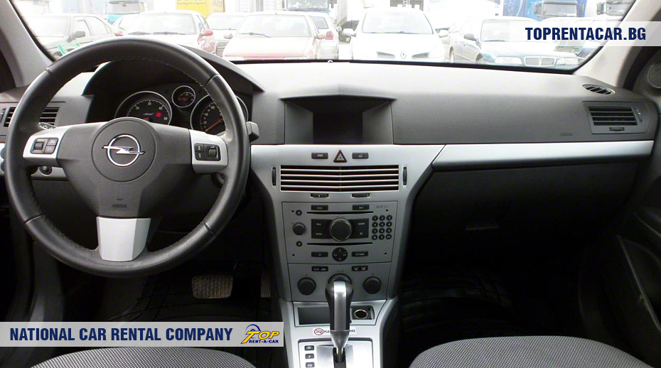 Opel Astra - вид изнутри