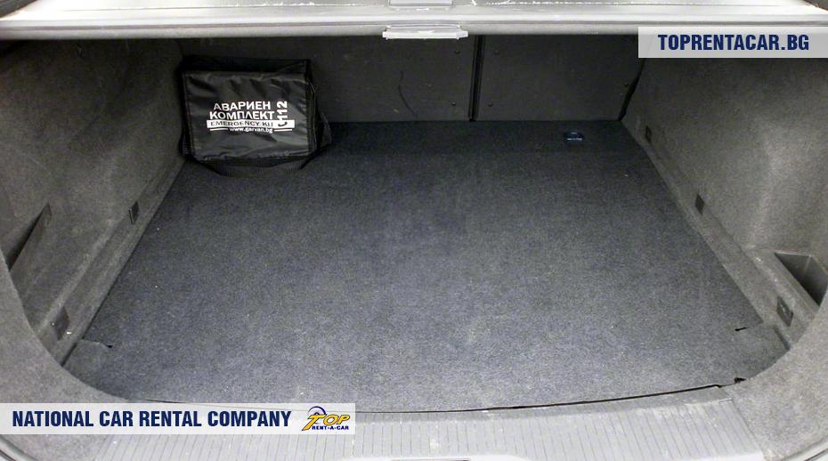 Opel Astra - багажник