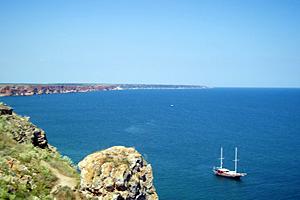 Морской пейзаж Черноморца