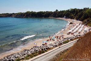 Пляж в Царево