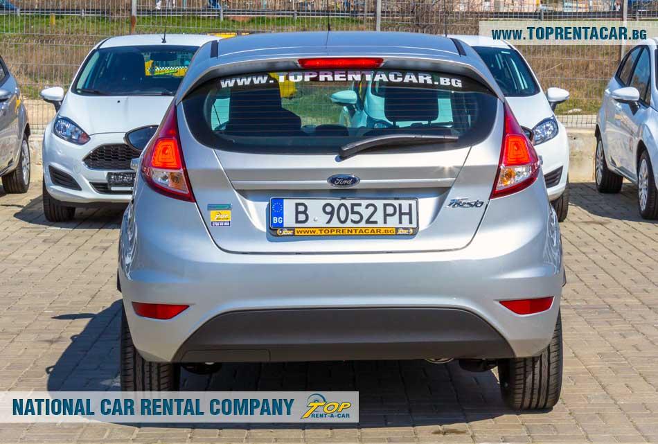 Ford Fiesta EcoBoost - изглед отзад