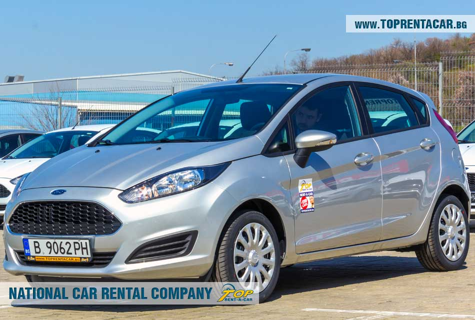 Ford Fiesta EcoBoost - изглед отпред