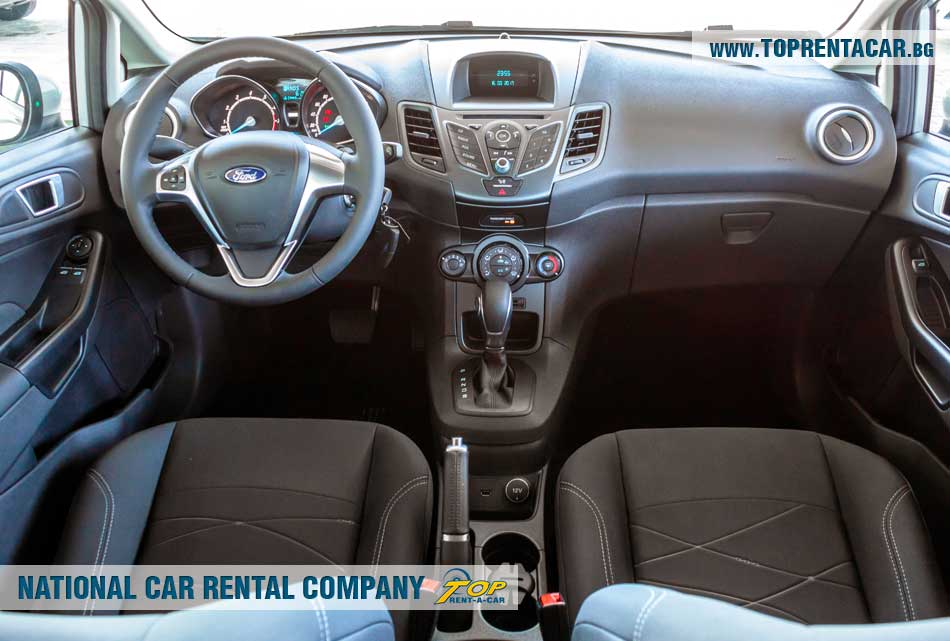Ford Fiesta EcoBoost - изглед отвътре